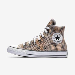 Converse CTAS Snake Embossed Sneakers